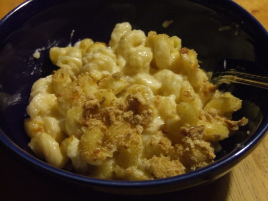 #mac and cheese, light